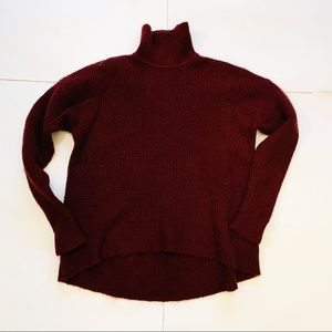Madewell Wafflestitch Turtleneck Sweater